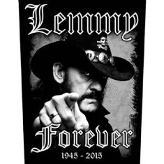 Lemmy - BACK PATCH: FOREVER (LOOSE)