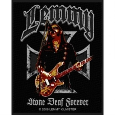Lemmy - STANDARD PATCH: STONE DEAF FOREVER (LOOSE)