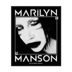 Marilyn Manson - STANDARD PATCH: VILLAIN (LOOSE)