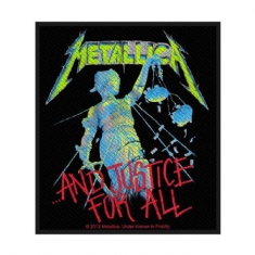 Metallica - STANDARD PATCH: AND JUSTICE FOR ALL (LOOSE)