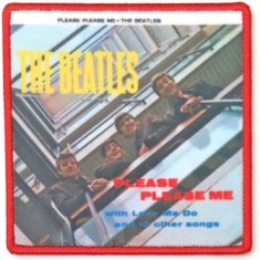 The beatles - STANDARD PATCH: PLEASE PLEASE ME ALBUM COVER (LOOSE)