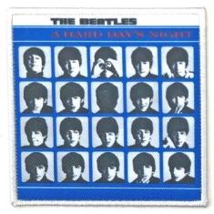 The beatles - STANDARD PATCH: A HARD DAYS NIGHT ALBUM COVER (LOOSE)