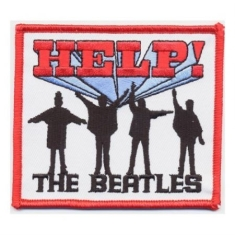 The beatles - STANDARD PATCH: HELP! (IRON ON)