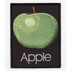 The beatles - STANDARD PATCH: APPLE RECORDS (IRON ON)