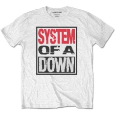System Of A Down - System Of A Down Unisex Tee: Triple Stack Box
