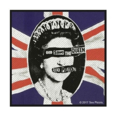 Sex Pistols - The Sex Pistols Standard Patch: God Save The Queen (Retail Pack)