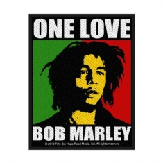 Bob Marley - Bob Marley Standard Patch: One Love (Retail Pack)
