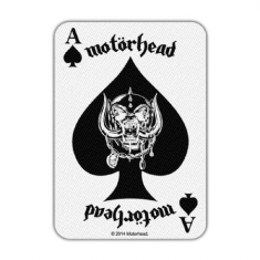 Motörhead - Motorhead Standard Patch: Ace of Spades Card (Loose)
