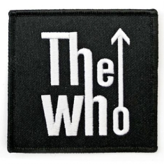 Who - The Who Standard Patch: Arrow Logo