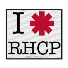 Red Hot Chili Peppers - Red Hot Chili Peppers Standard Patch: I Love RHCP (Loose)