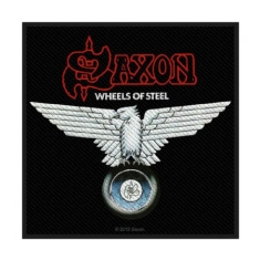 Saxon - Saxon Standard Patch: Wheels of Steel (Loose)