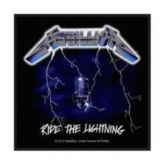 Metallica - Metallica Standard Patch: Ride the Lightning (Loose)