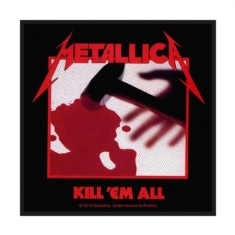 Metallica - Metallica Standard Patch: Kill 'em all (Loose)