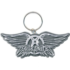 Aerosmith - KEYCHAIN: WINGS LOGO (ENAMEL IN-FILL)
