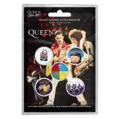 Queen - BUTTON BADGE PACK: LATER ALBUMS (RETAIL PACK)