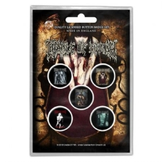 Cradle Of Filth - BUTTON BADGE PACK: ALBUMS (RETAIL PACK)
