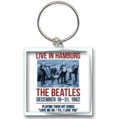 The beatles - KEYCHAIN: 1962 HAMBURG (PHOTO-PRINT)