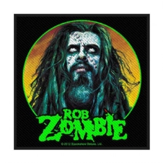Rob Zombie - Standard Patch: Zombie Face (Loose)
