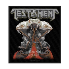 Testament - Standard Patch: Brotherhood of the Snake (Loose)