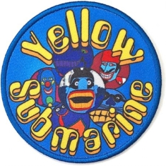 The beatles - Standard Patch: Yellow Submarine Baddies Circle (Loose)