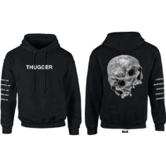 Young Thug - Unisex Pullover Hoodie: Skull Date (Sleeve Print) (X-Large)