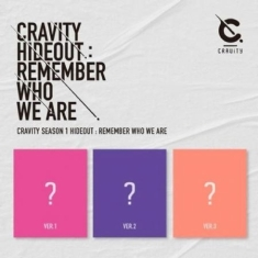 Cravity - Cravity Hideout: Remember Who We Are (Ver. 3)