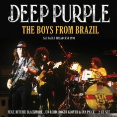 Deep Purple - Boys From Brazil (2 Cd) Live Broadc