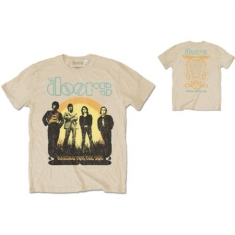 The Doors - Unisex Tee: 1968 Tour (Back Print)