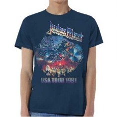 Judas Priest - Unisex Tee: Painkiller US Tour 91