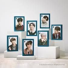 BTS - JIN - JIGSAW PUZZLE (108 piece + Frame + Photo Card)