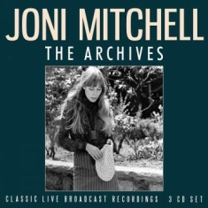 Joni Mitchell - Archives (3 Cd) Live Broadcasts