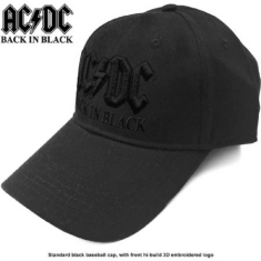 AC/DC - AC/DC Unisex Baseball Cap: Back in Black