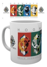 Harry Potter - House Crests Simple Mug