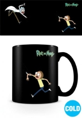Rick and Morty - Rick and Morty (Portals) Heat Changing Mug