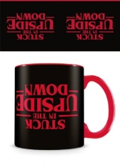 Stranger Things - Stranger Things (Stuck In The Upside Down - black) Coffee Mug