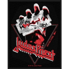 Judas Priest - Judas Priest Standard Patch : British Steel Vitnage (Loose)