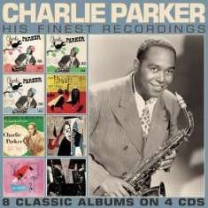 Parker Charlie - His Finest Recordings (4 Cd)