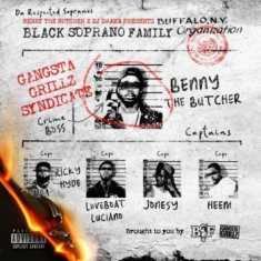 Benny The Butcher X Dj Drama - Black Soprano Family (Red Vinyl)