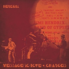 Hendrix Jimi - Message To Love / Changes (Red & Yellow Splatter Vinyl) (Rsd)