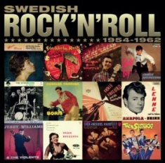 Various artists - Swedish Rock'N'Roll 1954-62