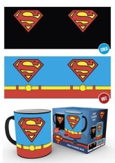 Dc Comics - Superman Costume Heat Change Mug