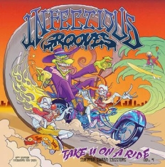 Infectious Grooves - Take You On A Ride (Ep) (Transparent Orange Vinyl/45Rpm) (Rsd)