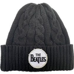 The beatles - Beanie Hat: Drum Logo (Cable Knit)