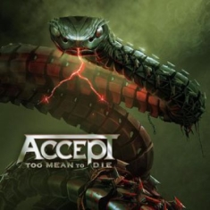 Accept - Too Mean To Die (Box incl. Digipak, blue-red-black splatter vinyl)