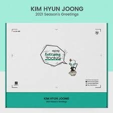 Kim Hyun Joong - KIM HYUN JOONG 2021 SEASONS GREETINGS [Everyday Joong]
