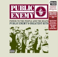 Public Enemy - Power To The People & The Beats - Greatest Hits (X) (Blood Red W/ Black Smoke Vi