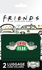 Friends - Central Perk Luggage Card Holder