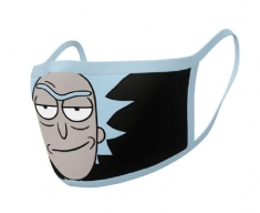 Rick and Morty - Rick and Morty (Rick) Face mask (2-pack)
