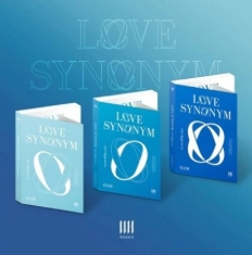 Wonho - 1st Mini Part.2 [Love Synonym #2 : Right for Us] (Ver.1 + Ver.2 + Ver.3)
