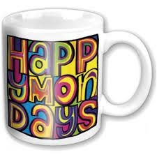 Happy Mondays - Boxed Mug - Happy Mondays -färgglad handgjord logo